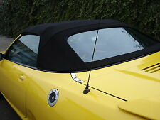 MGF & MGTF  Mk1/2 Black Mohair Hood & Plastic Window Section