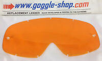 GOGGLE-SHOP REPLACEMENT LENS for OAKLEY O FRAME MOTOCROSS MX GOGGLES ORANGE TINT