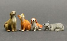Reality In Scale 35224 Cats & dogs 1:35 scale resin diorama accessory