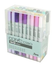 NEW Too Copic Ciao Markers 36 Color A Set Free Shipping Japan Manga Anime Cpmic