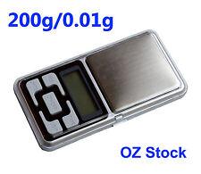 Electronic Digital Scale 200/0.01g Mini Precision Jewelry Scale, OZ Stock