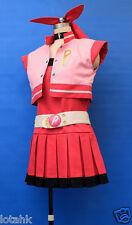 Powerpuff Girls Z Momoko Akatsutsumi (blossom) Cosplay Costume Custom Made