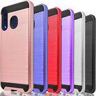 For Samsung Galaxy A11 A10E A20 A21 Phone Case Cover  + Tempered Glass Protector