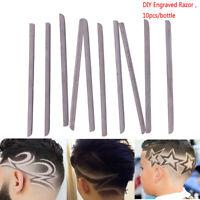 10Pcs Shaving Blades Hair Carving Pen Magic Hair Styling Eyebrows DIY Engraved
