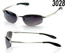 New Mens Retro Vintage Old School Metal Small Mirrored Lens 80 Sunglasses Shades