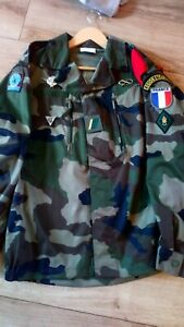 French Foreign Legion  2rep F2 Cce Combat 2nd company Jacket Size 42-44 /112