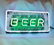 "Best Christmas Gift BEER Home  Kitchen Bar NCAA Decor NEON Light Lamp Sign 12""X6"