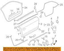 AUDI OEM 08-15 TT Quattro Door-Bracket Rivet N90437401