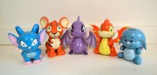 Neopets Thinkway Toys 2002 Plastic Electronic Interactive Toys Bundle Lot of 5