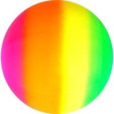 JOBLOT 12 X MEGA BALL 50cm NEON SCENTED SMELLY RAINBOW DESIGN new deflatated