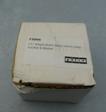 """FRANKE F3006 1 1/2"""" Hinged Dome Waste 35mm Long Tail / Nut+Washer"""