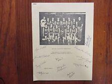 1983 Carroll College Womens Basketball Summary(11 Signed/DAN STEFFEN/LYNN DUSOLD