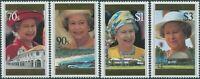 Samoa 1996 SG983-986 QEII 70th Birthday set MNH
