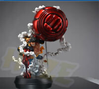 One Piece Monkey D. Luffy Statue Painted Gear Fourth Action Figure Collection
