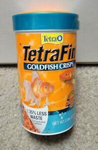 TETRA TETRAFIN GOLDFISH CRISPS FOOD, CRISP FORMULA ,  VERY NICE!