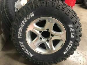 NEW mickey thompson mtzp3 LT265/75r16 tyre and rim