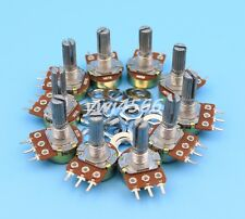 10Pcs B10K 10K Ohm Linear Taper MINI Potentiometer Pot 20mm