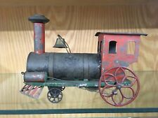 Fallows Tin Lithographed Floor Locomotive