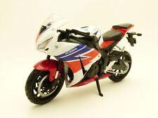MOTO HONDA CBR1000RR blanc & rouge 1/12