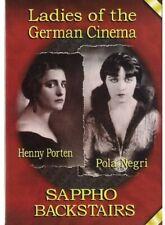 Sappho 1921 / Backstairs 1921 [New DVD]