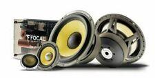 Focal ES165KX3 6.5 inch Three Way Component Speaker System - Multicoloured