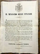(Modena) - Circolari e bandi riguardanti Modena - 1849-1866