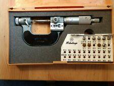 Mitutoyo 0 1 001 Thread Measuring Micrometer 226 137