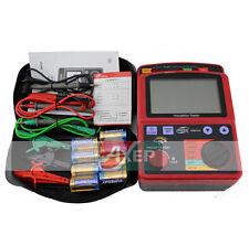 High Voltage 2500V Ohm Insulation Resistance Tester Meter Megger GM3123