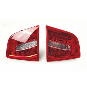 Pair Inner Turn Signal Brake Rear Tail Light Lamp Fit For Audi A6 S6 09-11 New