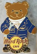 Hard Rock Cafe NARITA TOKYO 2007 Teddy Bear Series PIN Airplane Mechanic #37860