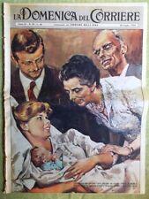 La Domenica del Corriere 26 Luglio 1959 Padre Gemelli Hayworth Grock Chessman