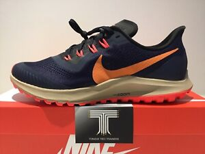 Nike Air Zoom Pegasus 36 Trail ~ AR5677 403 ~ Uk Size 12 ~ Euro 47.5