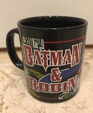Batman Y Robin Taza Negro-Coleccionable Vajilla De Cerámica Staffordshire