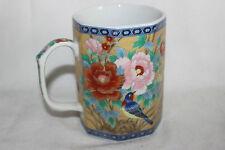 Mug Cup Tasse Japanese Style Flowers Birds