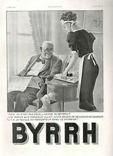 ▬► PUBLICITE ADVERTISING AD BYRRH 1938 GEORGES LEONNEC