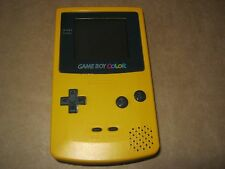 Nintendo GAME BOY COLOR Dandelion Yellow CGB-001 Game Console Colour Gameboy