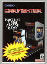 CAR FIGHTER for Colecovision / ADAM Cartridge.  NEW / CIB, SGM is REQUIRED