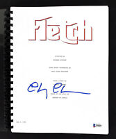 Chevy Chase Fletch Authentic Signed Movie Script Autographed BAS Witnessed
