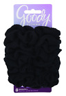 Ouchless Hair Scrunchie, 8 count, Black - BUY MORE THAN 1  SAVE 20