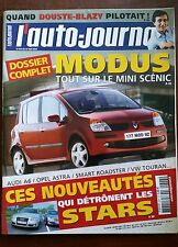 AUTO JOURNAL 27/05/2004; Dossier complet Modus/ Audi A6/ Opel Astra/ Smart Roads