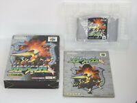 STAR FOX 64 Ref/bcc Nintendo 64 Japan Game n6