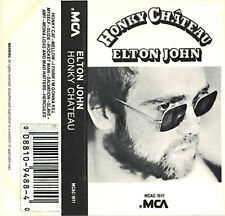 Elton John 1972 Classic Honky Chateau with Rocket Man In Cassette Format
