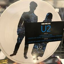 "U2 Lights Of Home Picture Disc 12"" Single Record Store Day RSD 2018 NEW"