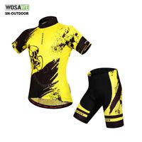 Cycling Bike Short Sleeve Clothing Bicycle Sports Wear Set Jersey/Shorts S-XXL