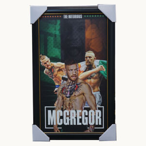 Conor McGregor UFC Champion The Nororius Print Framed - Memorabilia