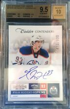 2011-12 Panini Contenders Ryan Nugent-Hopkins RC Auto Rookie SP Oilers BGS 9.5