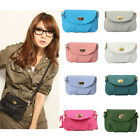 Women Mini Leather Messenger Handbag Satchel Crossbody Shoulder Bag Tote Purse