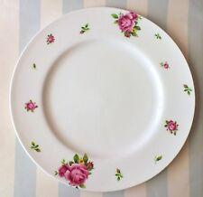 Royal Albert*New Country Roses*Dinner Plate*White Rim*Modern*New*3 Available