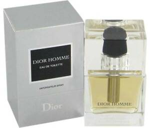 Christian Dior Homme 2007 Version EDT 50ML Spray Vintage Sealed Box Rare Perfume