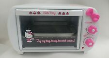 Hello Kitty 2 Slice Toaster Oven super rare xxtra clean fast shipping